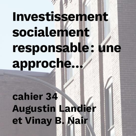 Investissement socialement responsable : une approche efficace et rentable