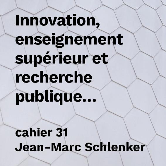 Innovation, enseignement supérieur et recherche publique : réussir est possible