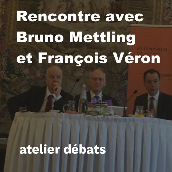 Rencontre 4 mai Mettling Veron